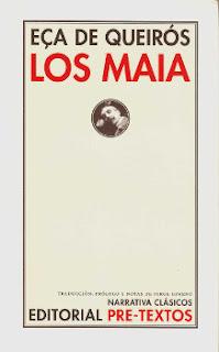 Portada del libro Los Maia para descargar en pdf gratis