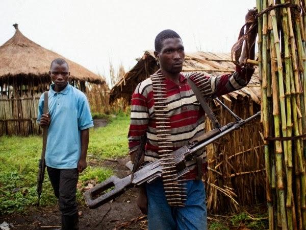 Rwanda-Fdlr Fighters