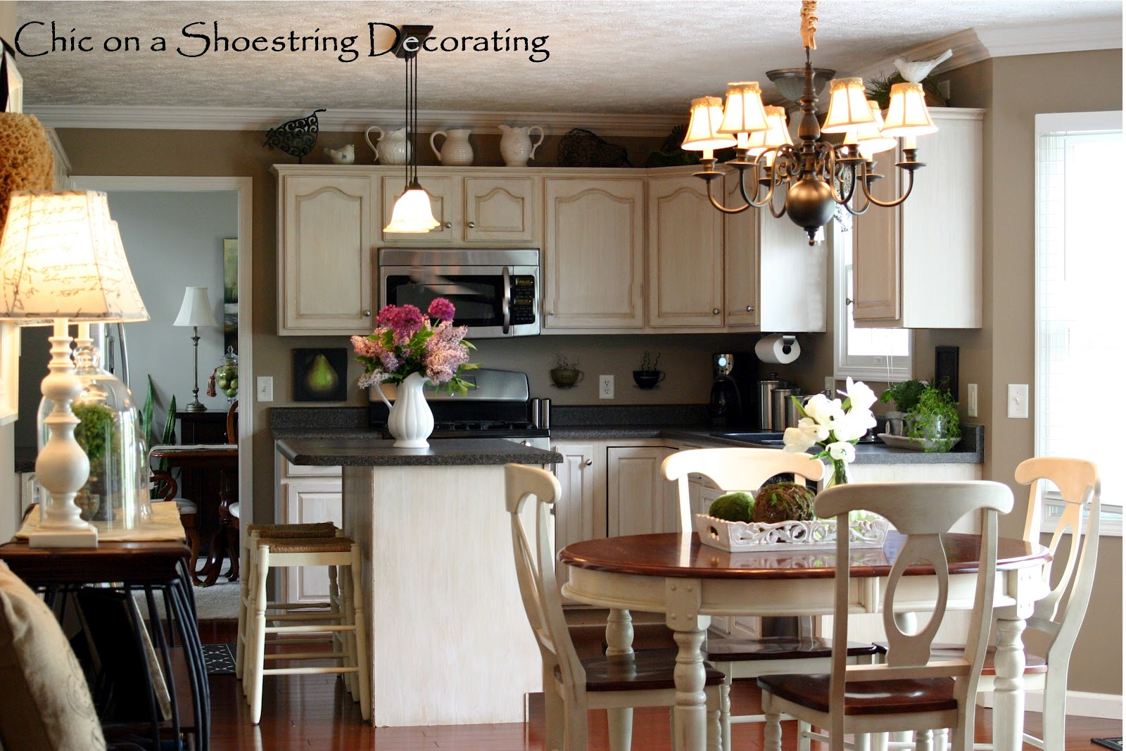 chic on a shoestring decorating 31 days of decorating on