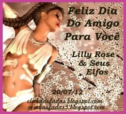 FELIZ DIA  DO(A)  AMIGO(A) - 20/07/12