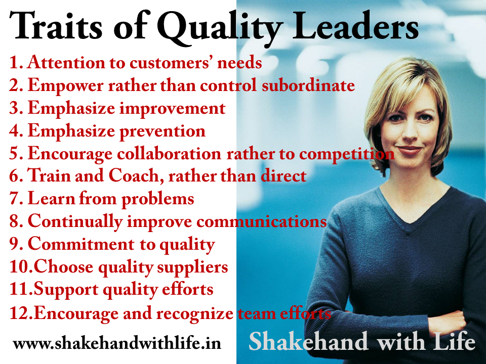 Traits of Quality Leaders