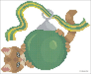 Free cross-stitch patterns, Christmas, kitten, bauble, animal, cat, cross-stitch, back stitch, cross-stitch scheme, free pattern, x-stitchmagic.blogspot.it, вышивка крестиком, бесплатная схема, punto croce, schemi punto croce gratis, DMC, blocks, symbols