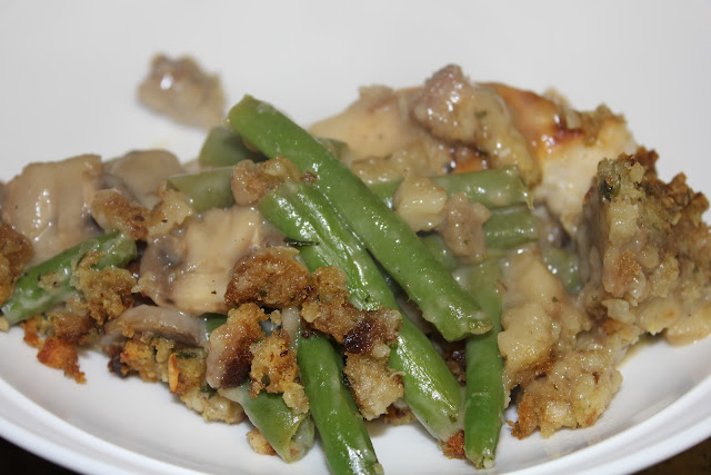 simply made with love: Chicken and Green Bean Casserole