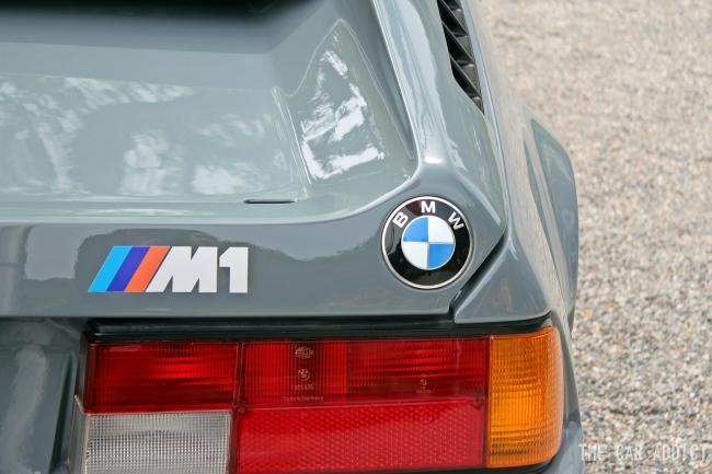 grey BMW M1 concorso d eleganza villa d este 2013