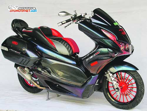 Modifikasi Honda PCX 150