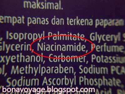 Ingredient Citra Night Whitening