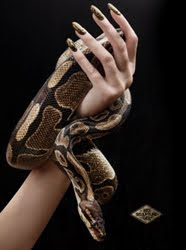 gaining popularity in new york the bio sculpture snake skin manicure