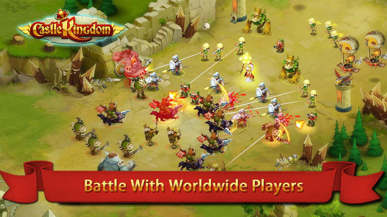 Castle Kingdom Gameplay IOS / Android