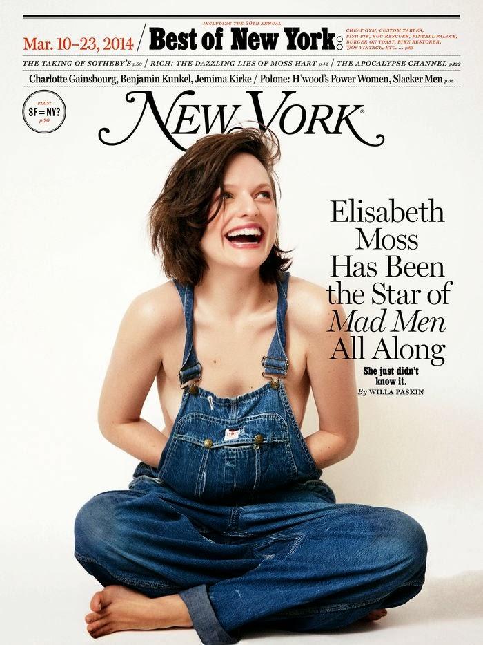 Elisabeth Moss by Cass Bird for New York Magazine, March 2014
