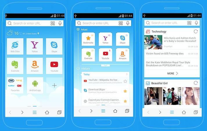 10 Aplikasi Browser Paling Ringan Dan Tercepat Berponsel Net