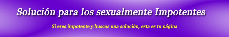 Impotente sexualmente