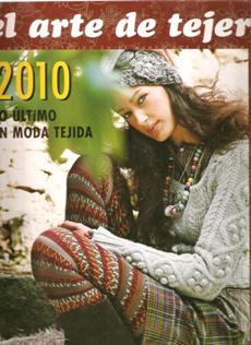 Revista El arte de tejer 2010