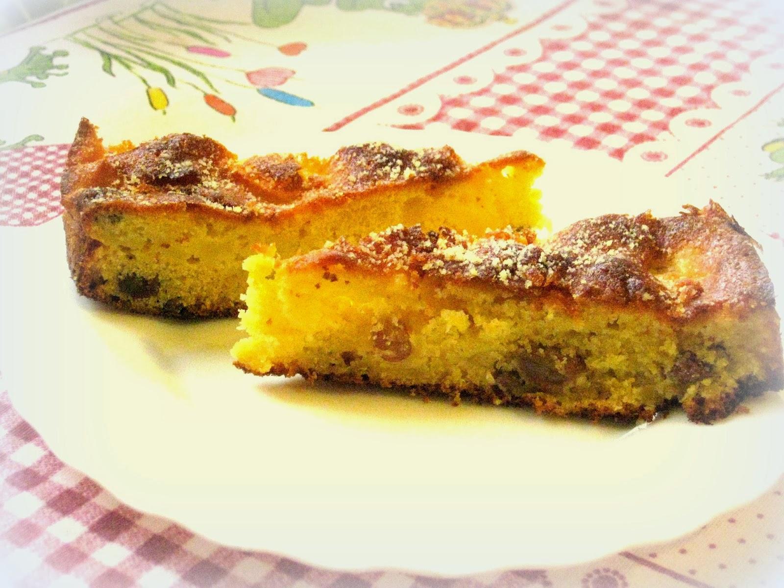 torta rustica con mele e uvetta