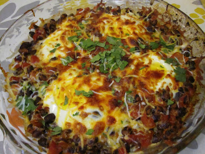 Elizabeth's Dutch Oven: Mexican Baked Eggs