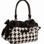 Juicy Couture:  Houndstooth handbag