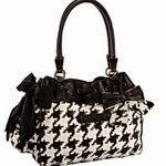 Juicy Couture:  Houndstooth handbag