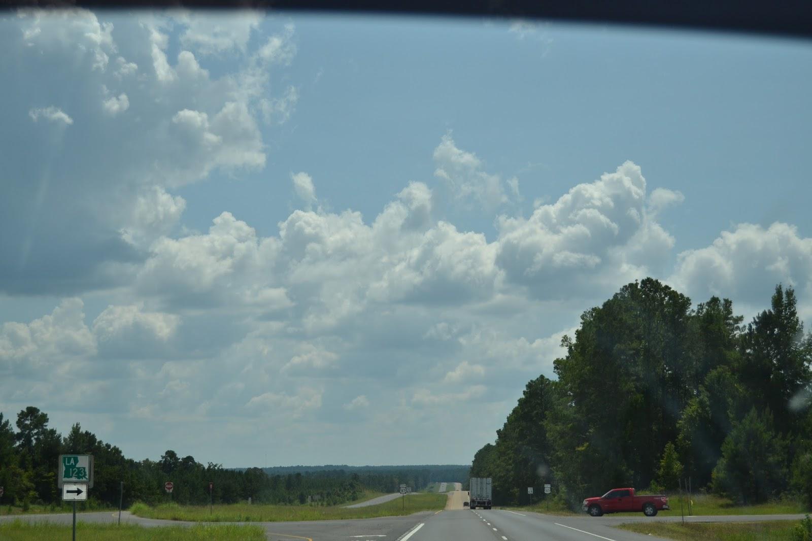 Leaving Louisiana and Texas Bound