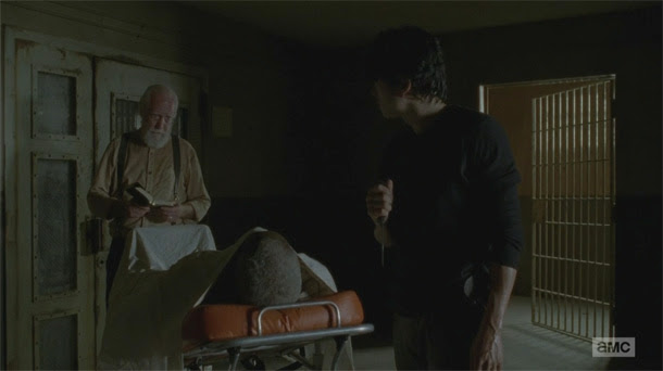 The Walking Dead 4x05 - Internament