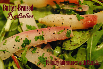 Culinary Adventures with Camilla: Butter-Braised Radishes