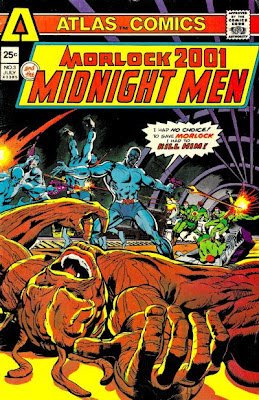 Atlas Comics, Morlock 2001 and the Midnight Men #3