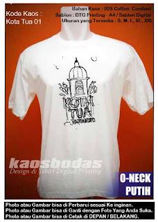 Kaos Kota Tua Jakarta 01