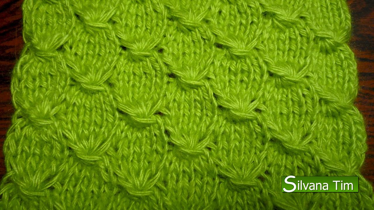 Silvana tim tejido con dos agujas puntos patrones de - Puntos para tejer ...