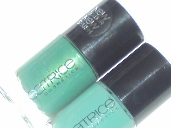 Catrice's nieuwe nagellakjes.