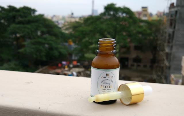 Just Herbs Gotukola Indian Ginseng Rejuvinating Beauty Elixir Review Details Price