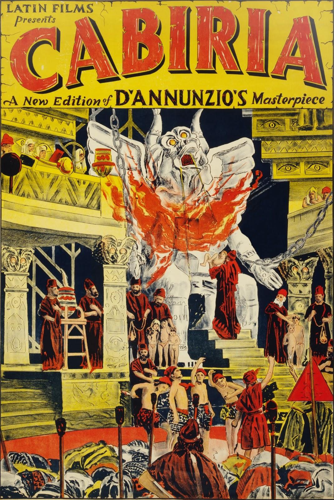 Ver película : Cabiria,1914 - Giovanni Pastrone