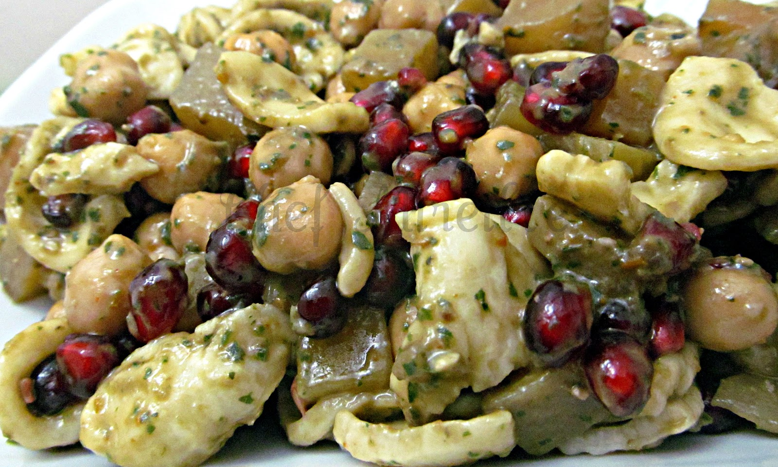 ... rich pasta or potato salads here is a twist on traditional pasta salad