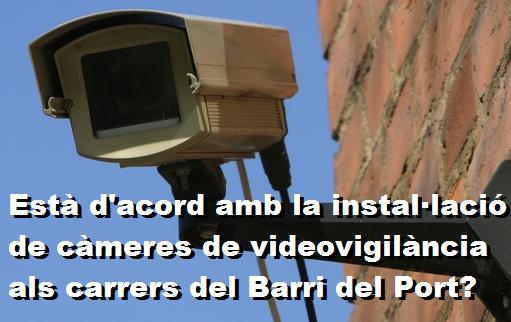 ENQUESTA: CÀMERES AL BARRI