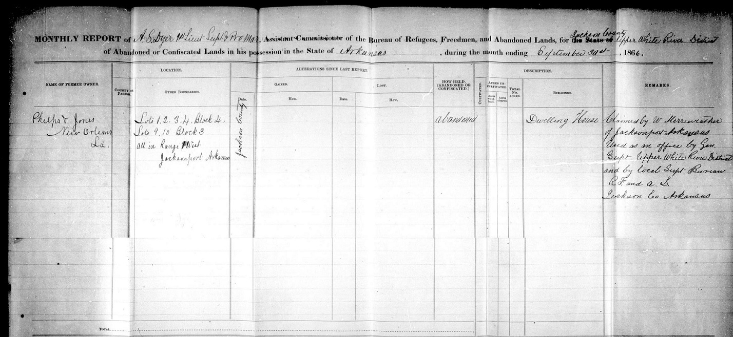 My ancestor 39 s name understanding and exploring freedmen 39 s for Bureau records