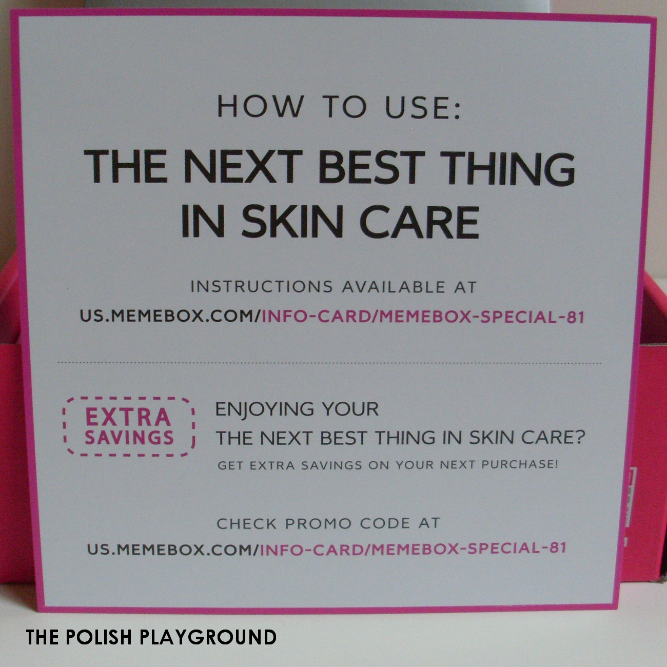 Memebox Special #81 The Next Best Thing in Skin Care Unboxing