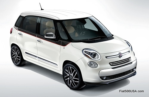 Fiat 500L Side Stripe