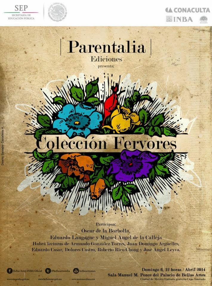 Presentación de libros Parentalia en Bellas Artes