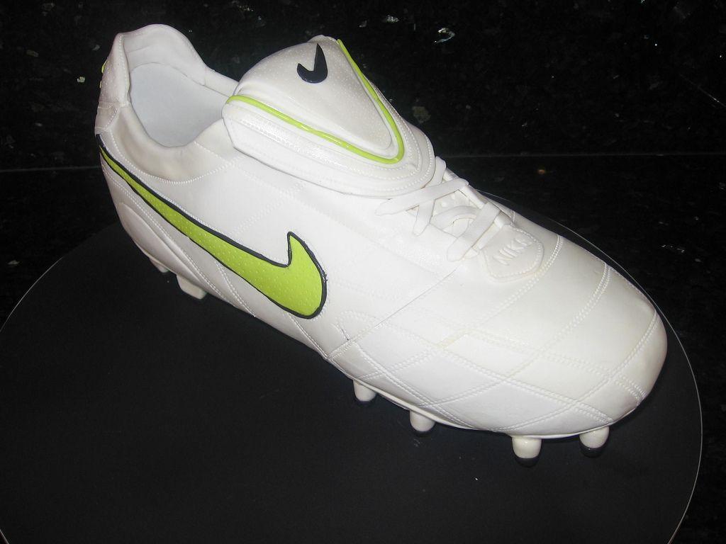 11. Nike Tiempo soccer shoe cake by Koula Kakopieros