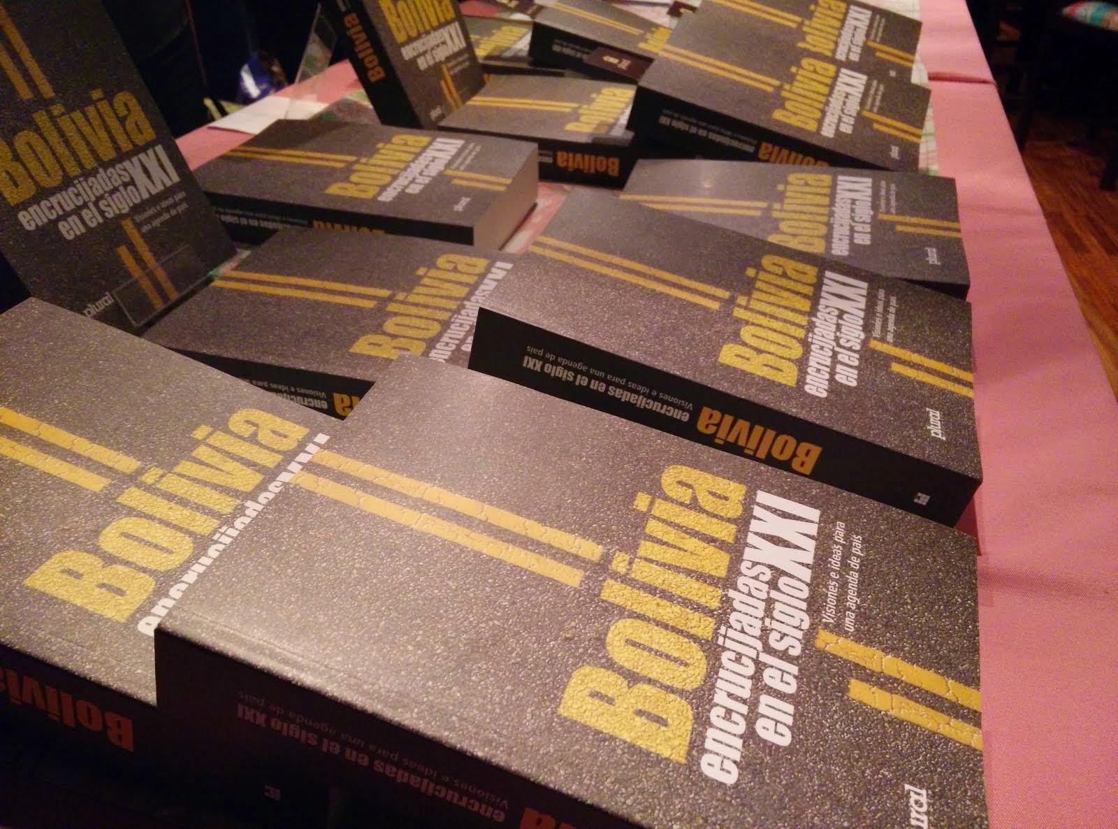 Presentación del libro: BOLIVIA: ENCRUCIJADAS EN EL SIGLO XXI