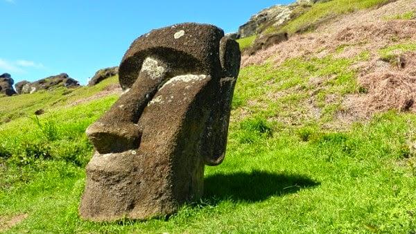 Patung kepala Pulau Paskah