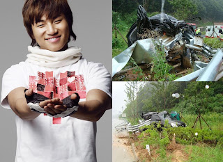 Kecelakaan Personil Big Bang yaitu Daesun - globelensa.blogspot.com