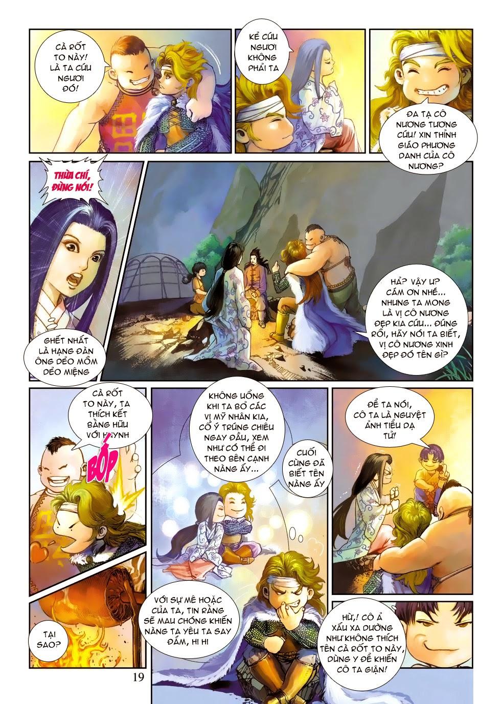 Thần Binh Tiền Truyện 4 - Huyền Thiên Tà Đế chap 3 - Trang 19