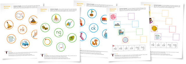 Teaching Blog Addict Free digraph worksheets to help young – Th Digraph Worksheets