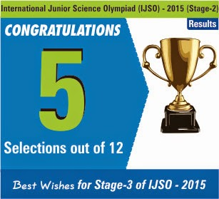 Splendid Performance by Resonites in IJSO-2015