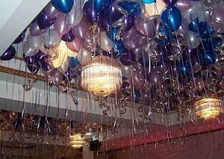 Rooms decoration for graduation parties