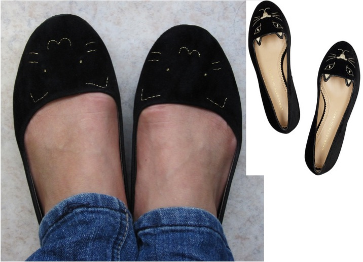 Cation DesignsDIY Charlotte Olympia Kitty Flats