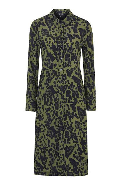 camo print shirt dress, topshop animal primt dress, animal print shirt dress. camo dress topshop,