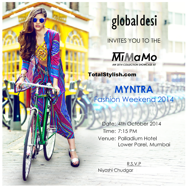 Global Desi – MiMaMo Autumn Winter 2014