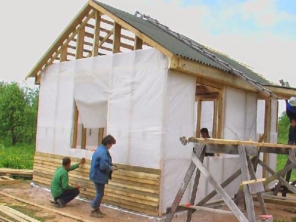 каркасный дом из осб своими руками пошаговая инструкция - фото 11