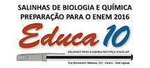 Salinhas de Biologia e Química para o ENEM 2016