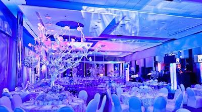 Mesas y decoracion para boda