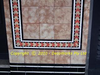 Pymble street level tiles